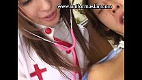 Asian sexy doctor n sickening man at hospital preview image