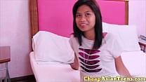 ⑱ Young Hairless Asian Teen Hooker Blowjob -  - 9Club.Top