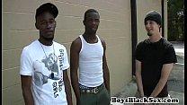 Blacks On Boys -Gay Hardcore Bareback Fuck Video 01