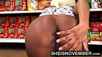 12537 HD Young Big Ass Black Girl Hardcore Doggystyle In Walmart Msnovember Must Fuck Stranger To Buy Her Food Using Her Cute Ass And Little Mouth To Pay Hd Sheisnovember preview