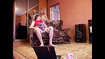 Порно видео как отец трахает