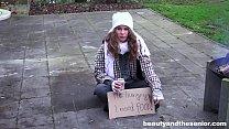 Homeless teen fucks granddad in the park for li...'s Thumb