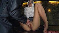 Petite Arab Sucks Fat American Dick