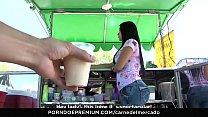 CARNE DEL MERCADO - Sexy curvy Colombian Sara Restrepo picked up and fucked hard thumbnail