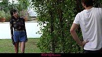 Karups - Showering Wife Lexi Foxy Fucks Her Peeping Tom - 9Club.Top
