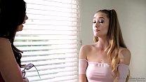 Stepdaughter does special massage on her Mom - Samantha Hayes, Mindi Mink