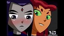 Starfire & Raven