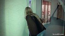 German MILF seduce Stranger Boy to Fuck from Sc...