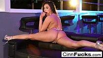 Christiana Cinn fucks like a madwoman and takes a load to the face! thumbnail