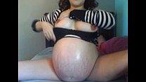 Pregnant Girl Masturbating