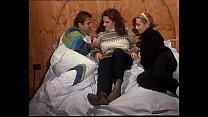 Italian vintage porn: amazing threesome with young Miss Pomodoro [이탈리아 italian]
