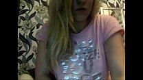 Blonde Girl on Web Cam pornhub video