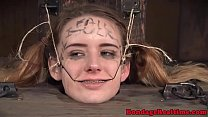 Submissive babe humiliated and punished