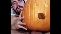 Happy Halloween: curta o pauzudo metendo na abóbora! [할로윈 Halloween]