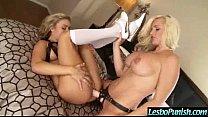 Cute Girl Get Dildo Sex Toys Punishment From Lez Girl movie-01