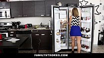 FamilyStrokes - Cute Blonde Fucked by Step-Brother preview image