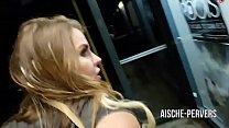 aische-pervers - An der Bushaltestelle ÖFFENTLI...