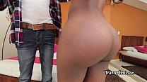 Ebony shemale love massive cock - Download mp4 XXX porn videos