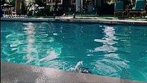 Celeb Amber Heard in tight bikini