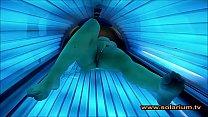 Solarium cam beautiful woman masturbates on the solarium thumbnail