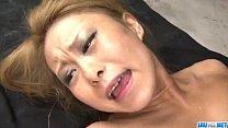 Cock sucking Yuno Shirasu bends over for cock