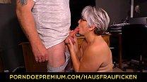HAUSFRAU FICKEN - Chubby German granny fucks her husband during mature amateur tape Vorschaubild