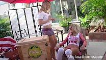 Scandinavian Babes Vicky Vette & Puma Swede Hot Lesbian Acti! - 9Club.Top