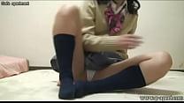 Yurina Ayashiro Upskirt Open Leg in Uniform preview image