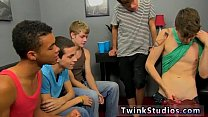 Naked teen porn movies first time Kyler Moss instigates things when