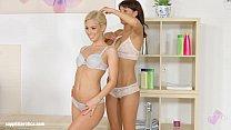 Nesty and Suzy Rainbow in Mirror Mirror... lesbian scene by SapphiX thumbnail