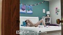 SPYFAM Step Sister Seduces Big Dick Step Bro On 4th Of July - Cum on printed thumbnail