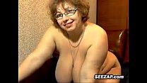 Mature Russian BBW Masturbates Thumbnail