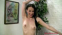 Petite Veronica Radke Sucking A Stunt Cock