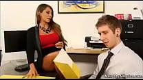 My first slutty secretary