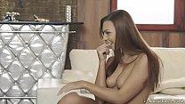 Super hot european brunette babe - Ornella Morgan