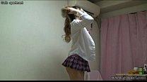 Free download video bokep Japanese schoolgirl take off school uniform