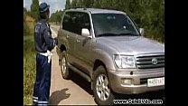 Screenshot Russian Policeman And Blonde