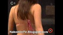 Aktmodell - naked Hungarian casting on TV  stripping 3 Vorschaubild