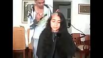 17538 مغربية سوسية تحلق شعرها الطويل preview