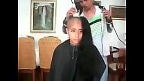 15359 مغربية سوسية تحلق شعرها الطويل preview