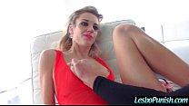 Lesbian Girls (blake&phoenix) Enjoy Hard Punish Sex Game Using Dildos clip-13