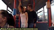 Porn Star Bonnie Shai gropped in the Bus Free thumbnail