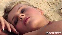 Zuzana Z. It's getting nippy on the beach