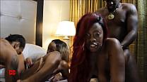 Ebony Fourseome thumbnail