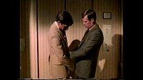 2 bus. men in elevator (vintage comp)