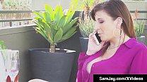 PAWG Milf Sara Jay & Mexican Star Nicky Ferrari Tongue Fuck!