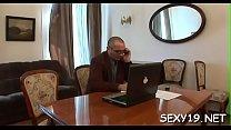 Pleasant beauty gets a wild drilling from horny elderly teacher pornhub video