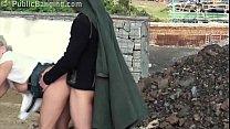Cute little blonde girl public construction site public sex threesome gang bang tumblr xxx video
