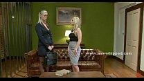 Blonde mistress enjoys blonde lesbian porn image