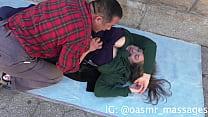Big Boobs Massaged in Public (Rubbing & Blowing) Vorschaubild